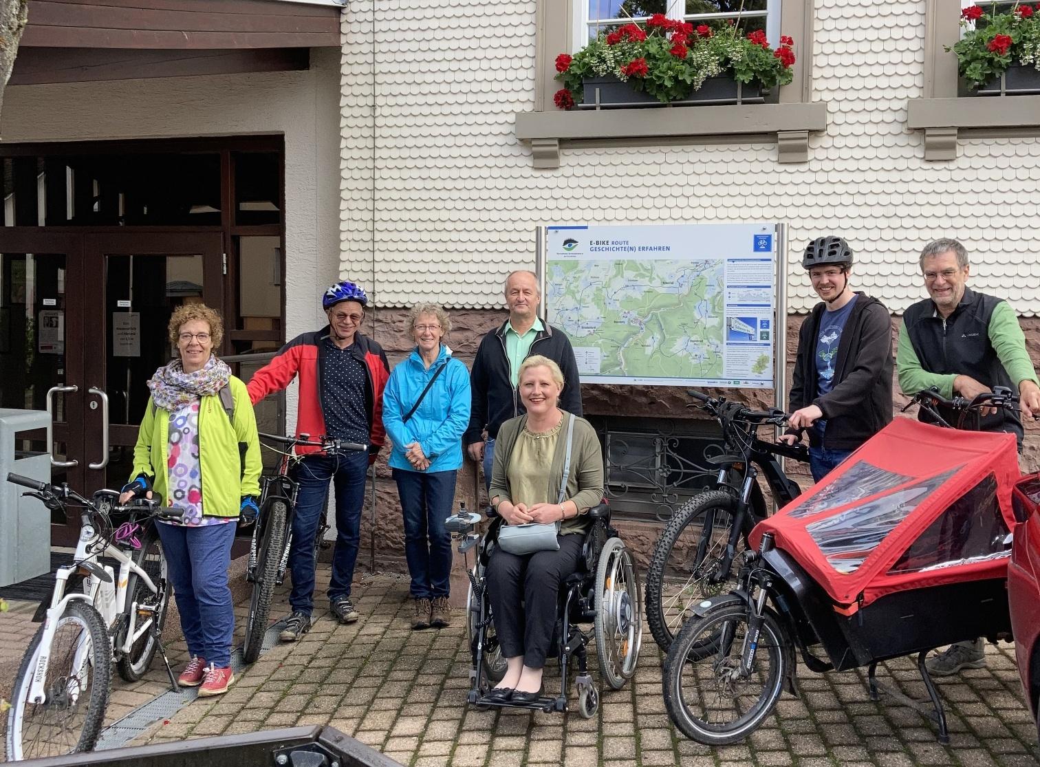 E-Mobilitäts-Tour in Engelsbrand